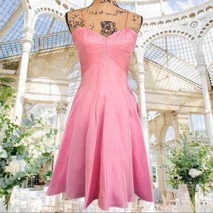 STUNNING vintage bubblegum pink dance dress